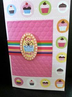 Happy Birthday, handmade Greeting Card Item 055