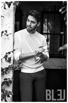 The Boy Next Door Star Ryan Guzman Embraces Tailored Hollywood Style for Bleu Cover Shoot