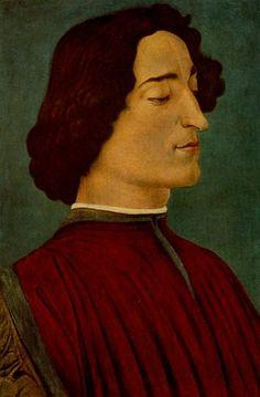 Giuliano de' Medici by Sandro Botticelli
