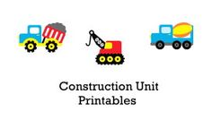 Free Construction Unit Printables from Two Little Seeds