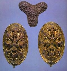 Jewellery from Kaupang. (Norway)