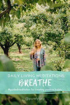 30-Minute Daily Living Meditation: Breathe Kundalini Meditation, Meditation Benefits, Meditation Quotes, Daily Meditation, Meditation Practices, Mindfulness Meditation, Mindfulness For Beginners, Mindfulness For Kids, Meditation For Beginners