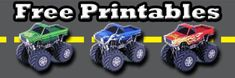 Free Monster Truck Printable Papercrafts