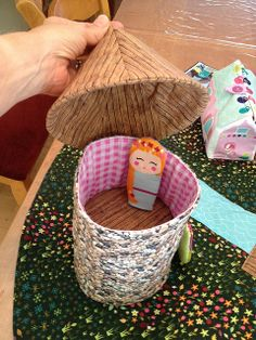 Rapunzel in her tower by Hidamma, Storybook Lane Fabric Rapunzel, Kid Stuff, Fabrics, Tower, Faith, Future, Sewing, Kids, Tejidos