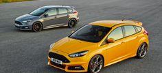 Ford Focus ST als Diesel und Benziner: Weltpremiere: Der Focus ST zum ersten Mal als Diesel