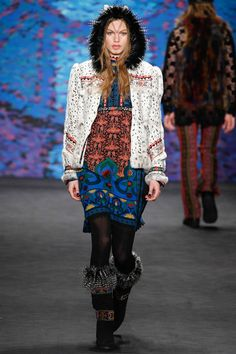 Anna Sui Fall 2015 Ready-to-Wear Collection - Vogue