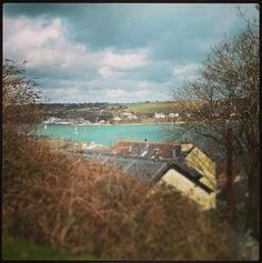The view from Wodehouse Terrace, Falmouth, Cornwall