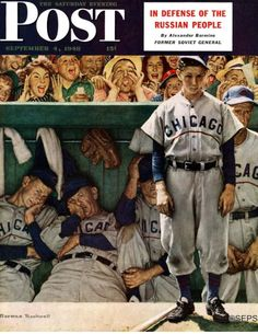 Dejected Cubs Batboy (Norman Rockwell September 4, 1948)