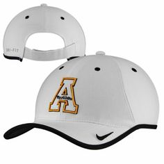 Appalachian State Mountaineers Nike Coaches Performance Adjustable Hat - White