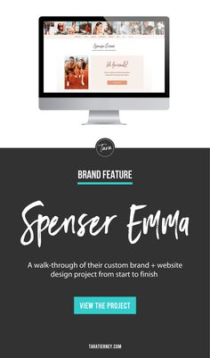 Spenser Emma is an Influencer and Health + Fitness coach located in San Diego. Click through to get a walkthrough of her custom Brand + Website project from start to finish! #branding #brandinginspo #influencer #brand #brandidentity #websitedesign #wellnessbrand #health #fitness #empowerment #wordpress Branding Portfolio, Custom Website, Social Media Pages, Core Values, Online Entrepreneur, Personal Branding, Helping People, Design Projects, San Diego
