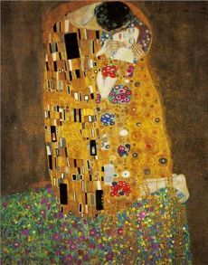 "Gustav Klimt- ""the Kiss"