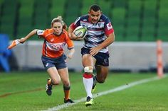 Sport picture of the day: the first female assistant referee in Super Rugby