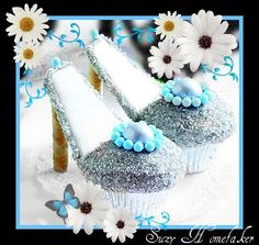 Stiletto Shoe Cupcakes