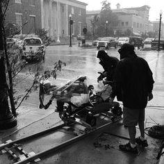 Rain or shine – #Revolution filming goes on!