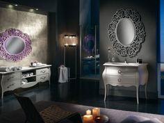 Barokk fürdőszobabútor - www.montegrappamoblili.hu Italian Bedroom Furniture, Vanity, Mirror, Bathroom, Home Decor, Dressing Tables, Washroom, Powder Room, Decoration Home