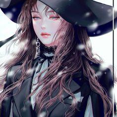 Cool Anime Girl, Pretty Anime Girl, Beautiful Anime Girl, Anime Art Girl, Manga Girl, Anime Guys, Anime Fantasy, Fantasy Girl, Beautiful Fantasy Art