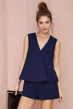 Finders Keepers Small Talk Layered Romper