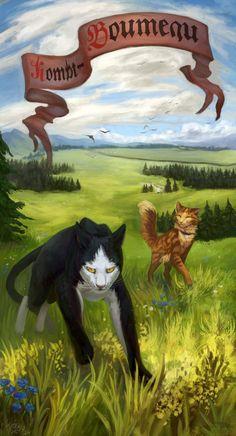 Warriors cats - Tallstar and Jake by Cat-Patrisiya.deviantart.com on @DeviantArt