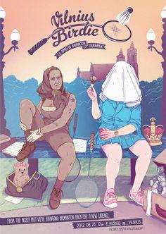 Poster by Karolis Stratniekas