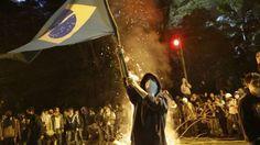 Brazilian police clash with protesters in Sao Paulo | EUTimes.net