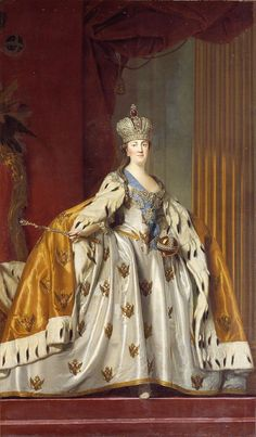 von Russland Empress Catherine II of Russia Impératrice Catherine II de Russie Vigilius Eriksen. Catherine The Great, Peter The Great, Catalina La Grande, House Of Romanov, National Gallery, Imperial Russia, Classical Art, Kaiser, Historical Costume
