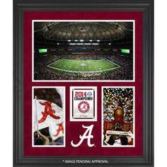 Alabama Crimson Tide Fanatics Authentic 2014 SEC Football Champions Framed 20'' x 24'' Collage