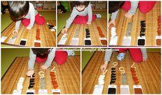 6 activitati Montessori cu oua si iepurasi (2 ani si 8 luni)