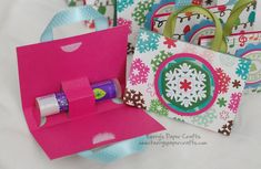 Lip Balm Purses! Little girls would LOVE giving/getting these for their friends for Christmas!.