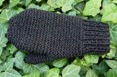 Ravelry: Garter Stitch Mittens pattern by Joanna Nordstrand