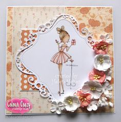 Colour Crazy Craft Challenge: wk 23 - Anything Goes craft challenge sponsored by All Dressed Up
