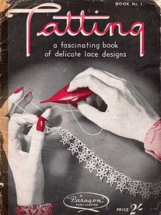 Free download of Paragon tatting book number 1 from the 1940s