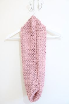 Free infinity scarf crochet pattern with Bella Coco on LoveCrochet