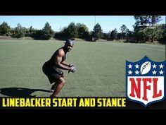 How To - NFL Linebacker STANCE AND START Drill - YouTube