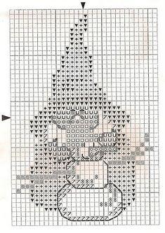 cross stitch christmas elf with snowman Santa Cross Stitch, Mini Cross Stitch, Counted Cross Stitch Patterns, Cross Stitch Charts, Cross Stitch Embroidery, Embroidery Patterns, Stitch Toy, Crochet Cross, Christmas Cross