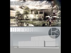 Photoshop for architect: Rendering by photoshop - YouTube