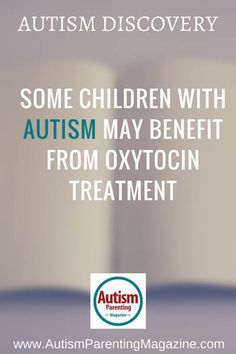 oxytocin and aspergers