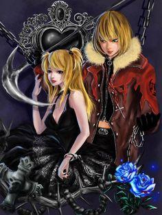 Mello and Misa by RikaMello on DeviantArt    _Death Note
