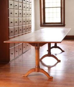 Shaker furniture at Hancock Shaker Village shows a simplicity of line and balance of proportion that inspire contemporary artists.