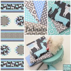 Packmates in Blue Poster