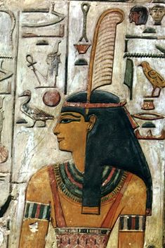 MAAT ~ Goddess personifying truth and justice.