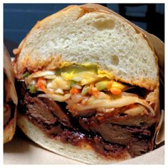 #Vegan Cali BBQ #Sandwich from Phoney Baloney's