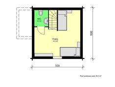 Mazurek IX z dobudówką - Domki ogrodowe - DREWNEX Container, Floor Plans, Flooring, How To Plan, Build House, Wood Flooring, Floor Plan Drawing, Floor, House Floor Plans