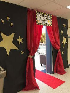 35 Super Ideas For Party Themes Hollywood Oscar Night - Bal de Promo 8th Grade Graduation, Graduation Theme, Movie Themes, Party Themes, Ideas Party, Kino Party, Deco Cinema, Hollywood Birthday Parties, Old Hollywood Party