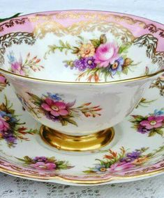 my hitch would be filled with gorgeous antique tea cups like this