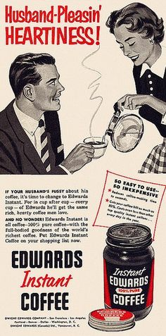 But hang on, before we go too far, let's talk about the First Wave. The First Wave was all about mass production and mass consumption. And although the quality wasn't great, it revolutionised the packaging and marketing of coffee. Air tight cans and individual portion sizes – we've got a lot to thank it for!