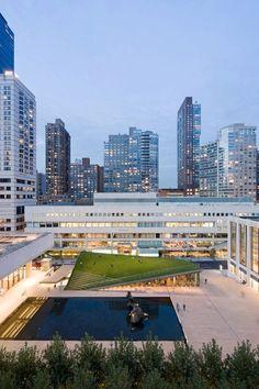 + Arquitetura :     Conheça o Pavilhão no Lincoln Center, projetado pela Diller Scofidio + Renfro.