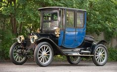 1911 E-M-F 30 Coupe - The E-M-F Company was an early American automobile manufacturer that produced automobiles from 1909 to Vintage Cars, Antique Cars, Retro Cars, Veteran Car, Automobile, Audi Rs5, Bmw 2002, Old Classic Cars, Old Trucks
