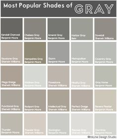 Colors Of Gray Paint There S No Such Thing As A Boring Shade Check Out This