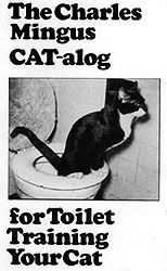 The original, original cat toilet training instructional. Mingus' technique inspired Kick Litter.