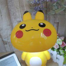 New Pokemon Go Pikachu Led Night Light  Kids Desk Lamp Xmas Gifts Toys